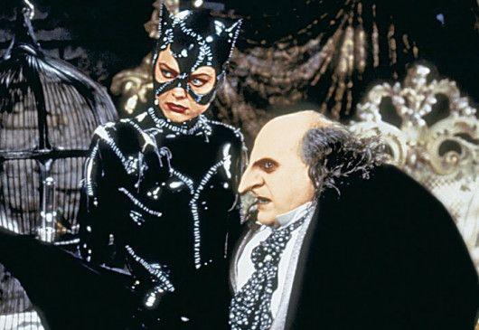 Wo bleibt denn der Flattermann? Danny DeVito und Michelle Pfeiffer