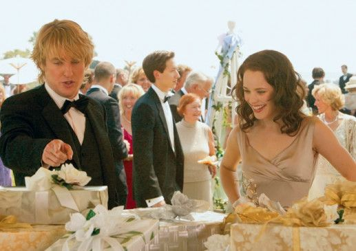 Die sieht aber lecker aus! Meint Owen Wilson Rachel McAdams oder die Torte?