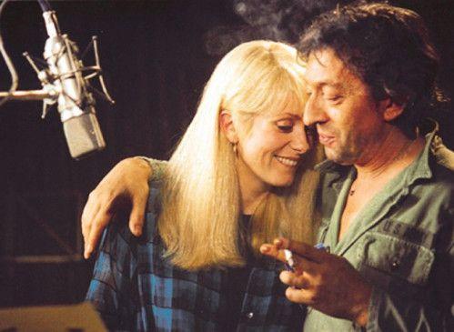 Kurzzeitig ein Herz und eine Seele: Catherine Deneuve und Serge Gainsbourg