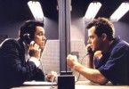 Wenn du mich nicht in Ruhe läßt, dann... Matthew  Broderick (r.) bedroht Jim Carrey