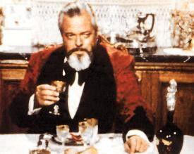 Na denn, Prost, meine Lieben! Orson Welles als durchtriebener Fiesling