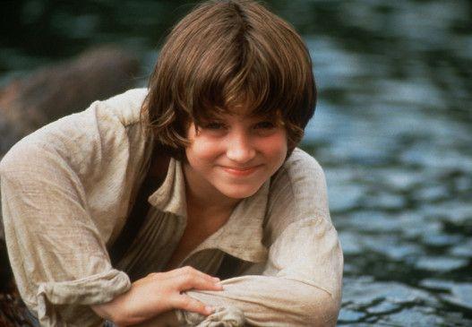 Elijah Wood in der Rolle des Huck Finn
