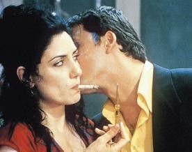 Ein Küsschen in Ehren... Lior Ashkenazi und Ronit Elkabetz