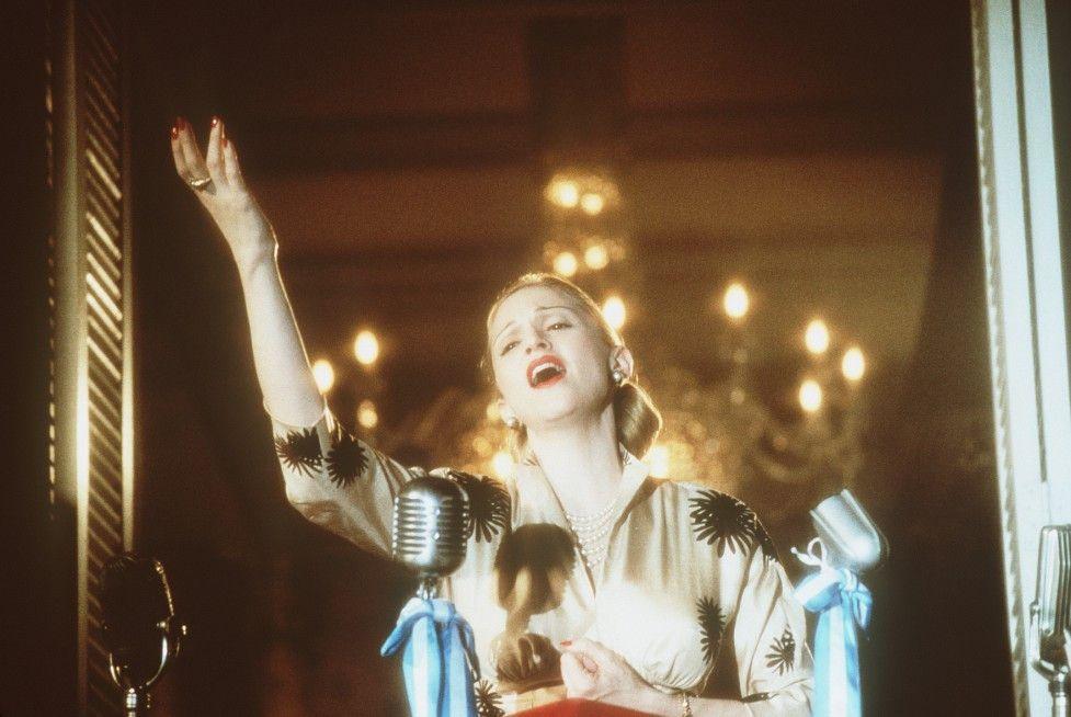 Singe, wem Gesang gegeben! Madonna als Evita Perón
