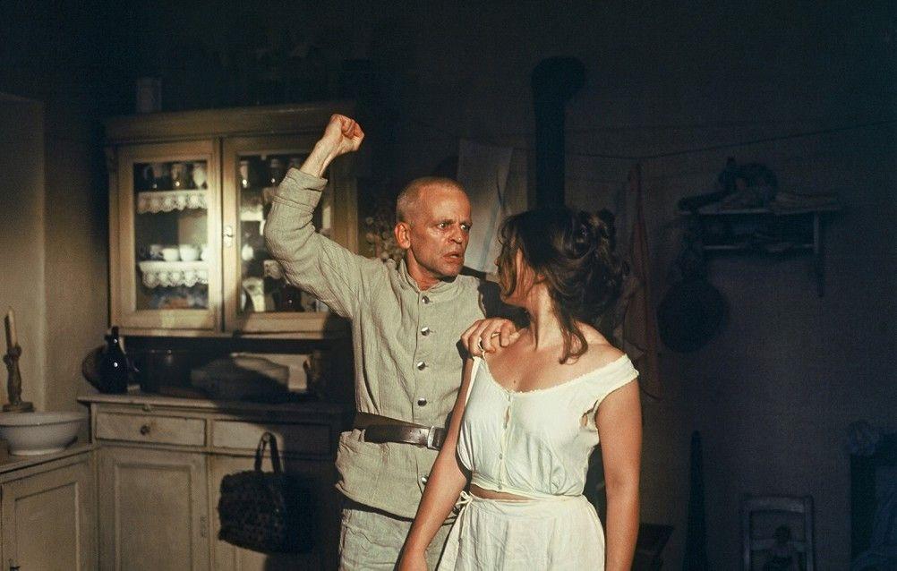 Rasend vor Wut: Klaus Kinski mit Eva Mattes