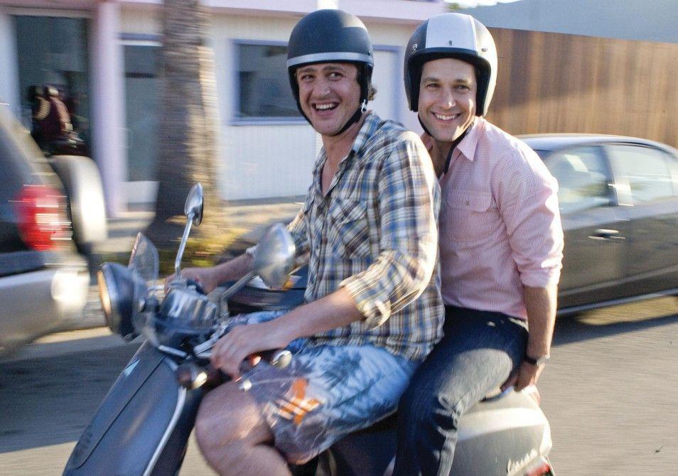 Beste Freunde: Sydney (Jason Segel, l.) und Peter (Paul Rudd)