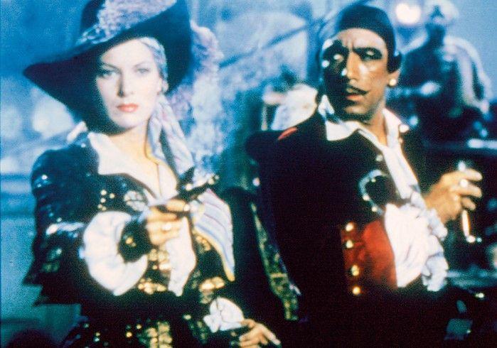 Der Pirat und die Freibeuterin:  Anthony Quinn und Maureen O'Hara
