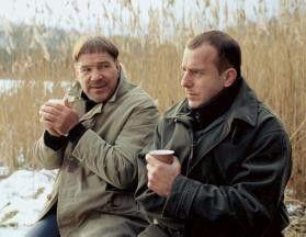 Werden zu Widersachern: Götz George (l.) und Heino Ferch