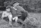 Fast wie ein Enkelkind - Michel Simon (r.) und Alain Cohen