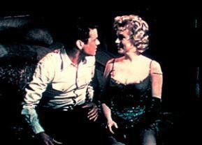 Der Bus wird schon kommen! Marilyn Monroe mit Don Murray