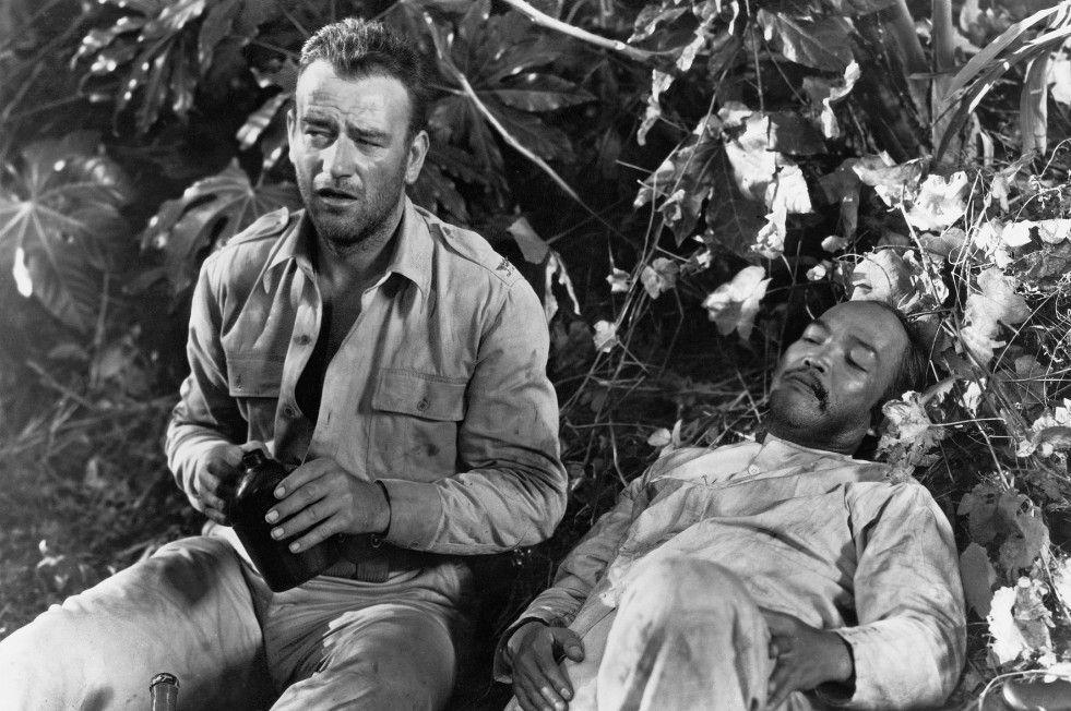 Oberst Madden (John Wayne, l.) soll den Widerstand organisieren