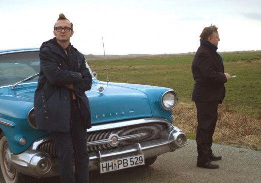 Ein ungleiches Paar: Fuchs (Peter Jordan, l.) und Tilmann (Axel Prahl)