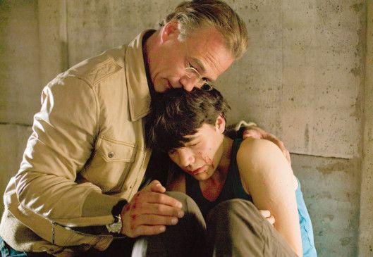 Keine Angst, ich helfe dir! Klaus J. Behrendt (l.) mit Sebastian Urzendowsky