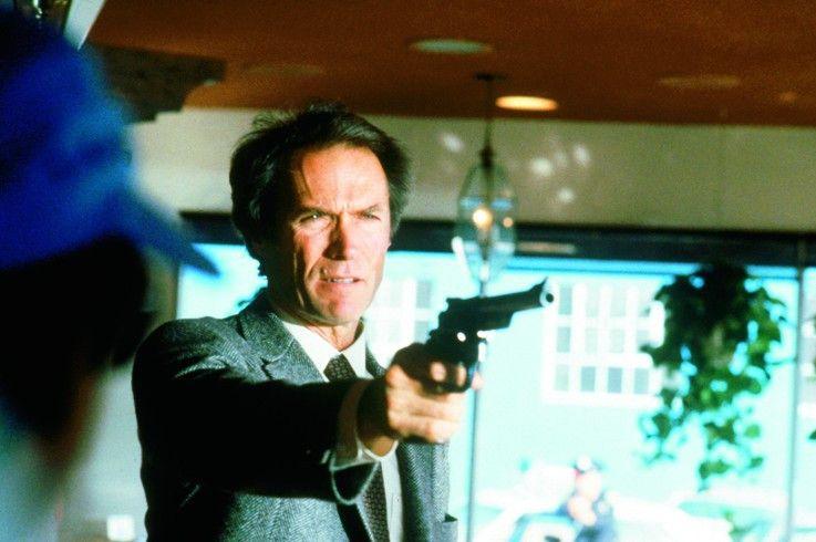 Inszeniert sich selbst: Clint Eastwood als Dirty Harry