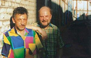 Tja, wir sind schon zwei! Kurt Schmidt und Wilfried Friedrich