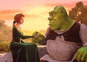 Du bist aber grässlich grün! Die Prinzessin und  Shrek