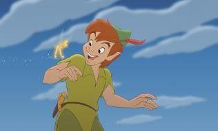 Auf zu neuen Abenteuern! Peter Pan und Tinkerbell