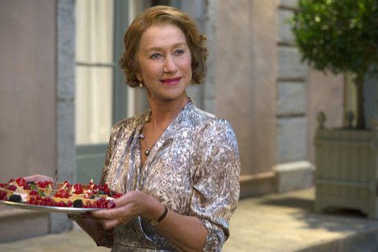 Hellen Mirren als Madame Mallory in Madame Mallory und der Duft von Curry.
