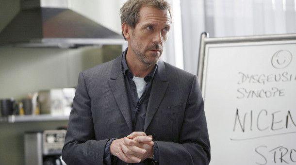 House (Hugh Laurie) - genialer Diagnostiker. Ansonsten aber eher der grantige Typ.