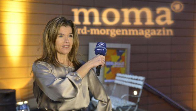 Anke Engelke war auf der Berlinale für das ARD-Morgenmagazin unterwegs.