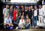 """Einige Darsteller der RTL-Soap """"Unter uns""""."""