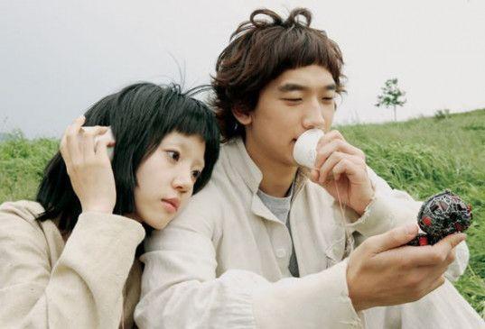 Cyborgs unter sich? Lim Su-jung und Rain (r.)