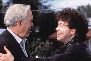 Bist du mein Vater? Tom Hulce (r.) und Jason Robards
