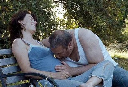 Schwanger - Grund zur Freude? Rifka Lodeizen und Wim Opbrouck