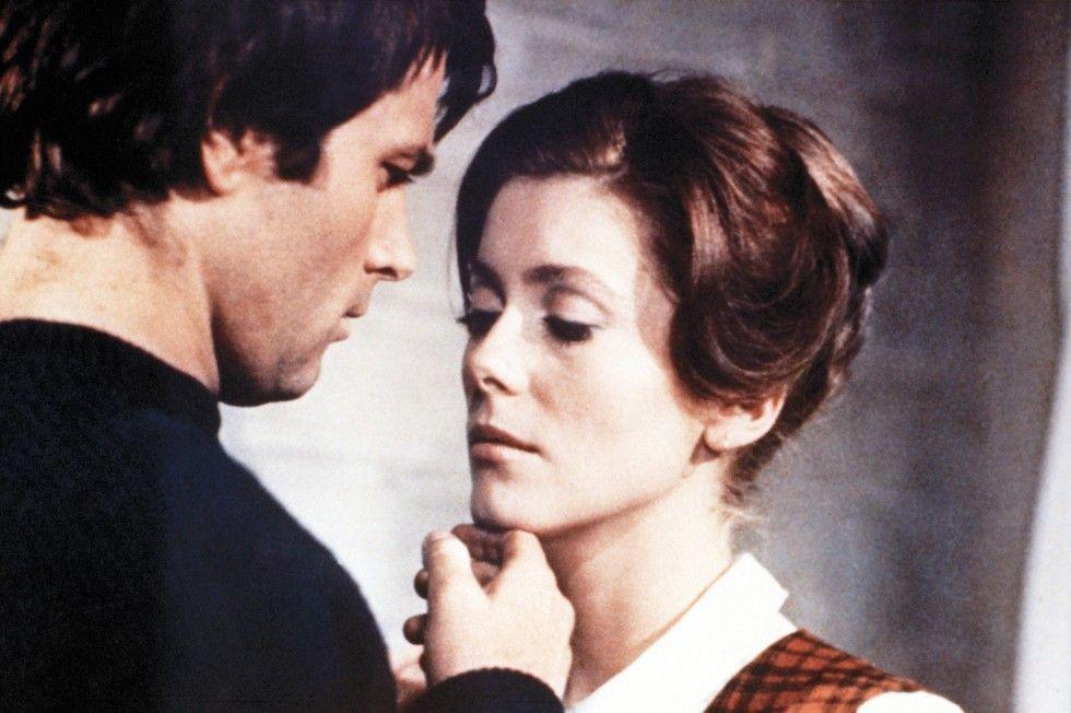 Knüpfen zarte Bande: Franco Nero und Catherine Deneuve