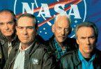 So ihr alten Knacker - ab ins All! James Garner, Tommy Lee Jones, Donald Sutherland und Clint Eastwood (v.l.)