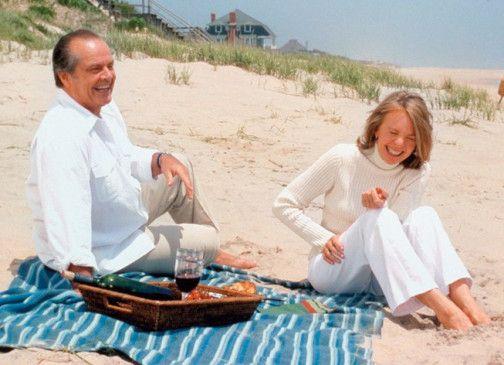 Ach, bin ich wieder lustig! Jack Nicholson und Diane Keaton