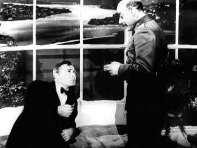 Hier werden Sie keine Spur finden! Kurt Katch und Peter Lorre (l.)