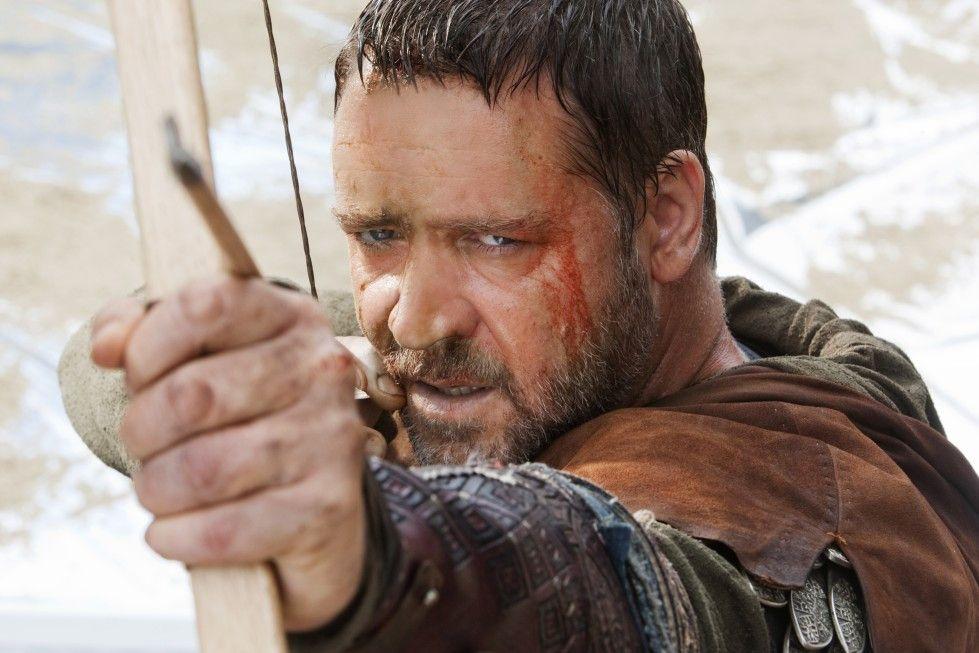 Nimmt die Bösen ins Visier: Russell Crowe als Robin Hood