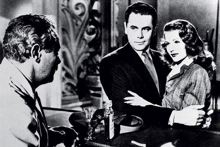Er wird dir nichts tun! Glenn Ford beschützt Rita Hayworth