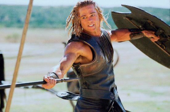 Mutiger Kämpfer: Brad Pitt als Achilles