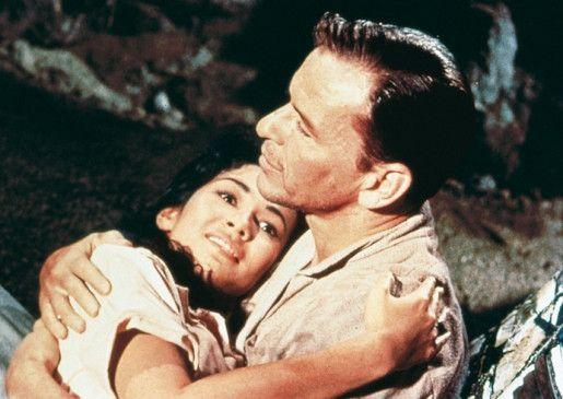 Keine Angst, wir werden es schaffen! Frank Sinatra beruhigt Barbara Luna