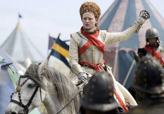 Auf in den Kampf, Männer! Anne-Marie Duff als Königin Elizabeth