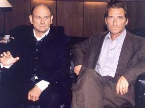 Ein seltsames Paar: Klaus Löwitsch (l.) und  Matthias Habich
