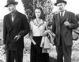 Menage-a-trois? Jean Sullivan mit Errol Flynn (l.) und Paul Lukas