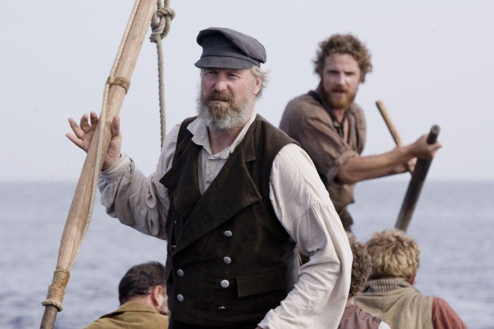 Gleich bekommt der Wal sein Fett weg! William Hurt als Ahab