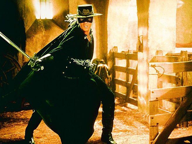 Ein edler Streiter, Kämpfer und Reiter... Antonio  Banderas als Zorro
