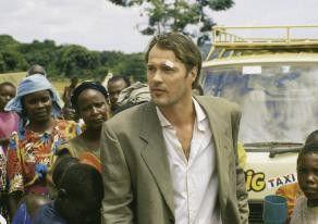 Mir wird gleich schwarz vor Augen! Sebastian Koch  in Afrika