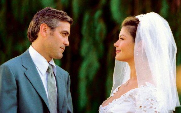 Hier stimmt doch was nicht! George Clooney und Catherine Zeta-Jones