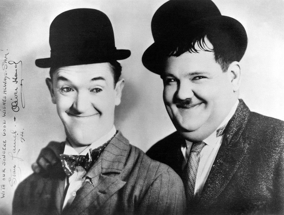 Wollen raus aus dem Knast: Stan Laurel (l.) und Oliver Hardy