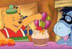 Sollen wir den Goblin fangen? Winnie Puuh (l.) und I-aah