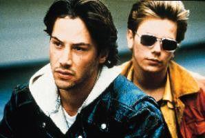 Freunde fürs Leben? Keanu Reeves (l.) und River  Phoenix