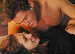 Das macht Spaß! Julia Roberts mit Filmlover Dominic West