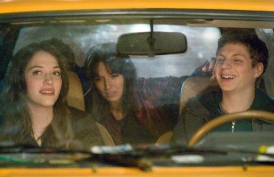 Eine Autofahrt ist lustig! Kat Dennings, Alexis Dziena und Michael Cera (v.l.)