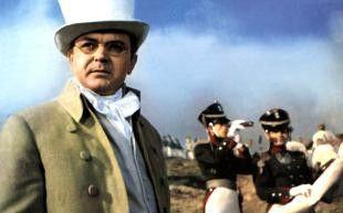 Sergej Bondartschuk inszenierte den Film nicht nur,  er spielte auch eine der Hauptrollen