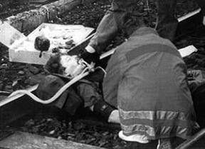 Wolfgang Grams stirbt im Bahnhof von Bad Kleinen